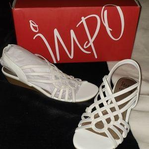Impo white Rumor sandals